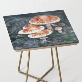 Family of mushrooms by Teresa Thompson Side Table