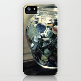 Vintage Glass Marbles 19 iPhone Case