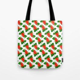 Strawberries Tote Bag