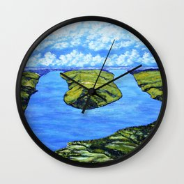 Bluff Point at Keuka Lake Wall Clock