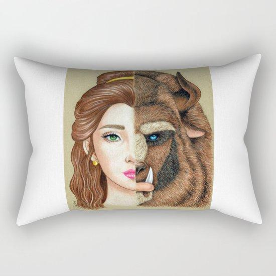 Beauty & the Beast Rectangular Pillow
