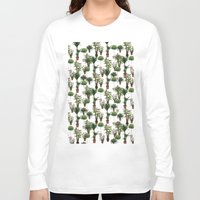 plants Long Sleeve T-shirts featuring plants by Gregory Sheppard