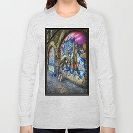 I Only Work Alone - Street Graffiti Artist Long Sleeve T-shirt