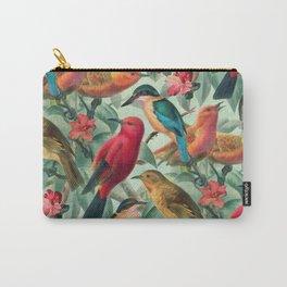 Birds in a summer garden Carry-All Pouch