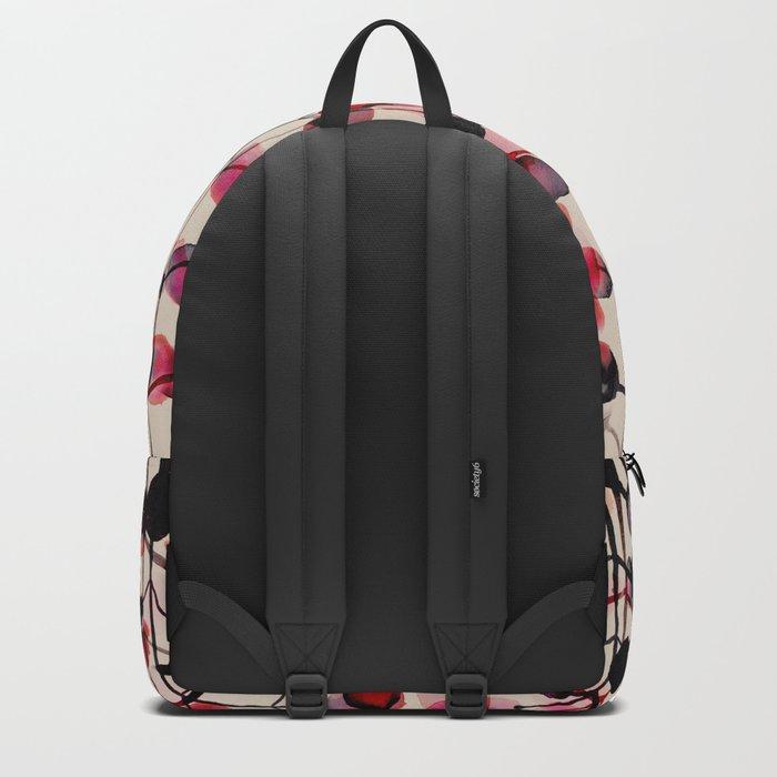 flower pattern 03 Backpack