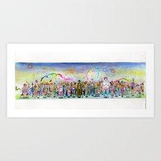 Slut Parade  Art Print