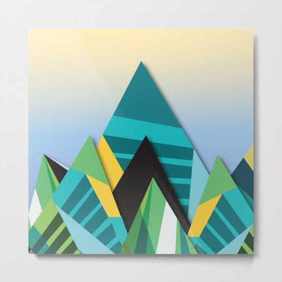 Cosmic Mountains No. 2 Metal Print