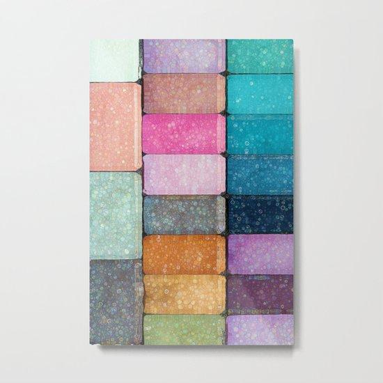 make-up colors Metal Print