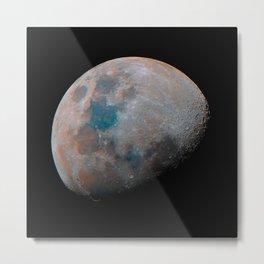 79% Mineral Moon Metal Print