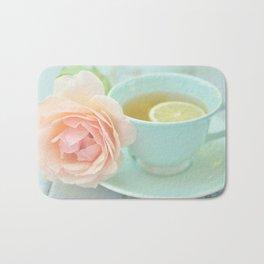 Tea Rose Bath Mat