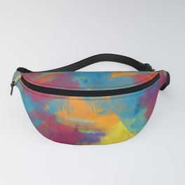 A Tropical Paradise - Abstract Art Fanny Pack
