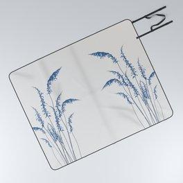 Blue flowers 2 Picnic Blanket