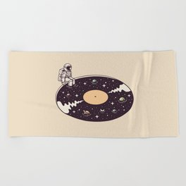 Cosmic Sound Beach Towel