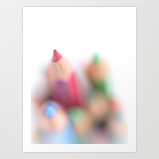 Point.... Art Print