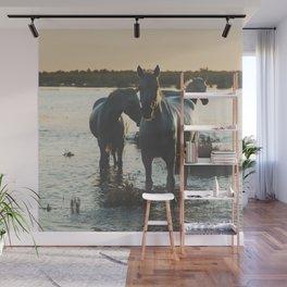 Camargue Horses III ... Wall Mural