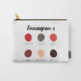 Enneagram 8 Carry-All Pouch