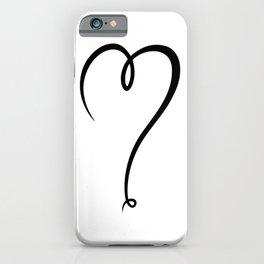 Love line art iPhone Case