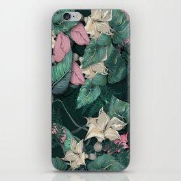 Big leaves pattern iPhone Skin