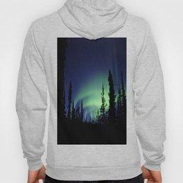 Aurora Borealis Landscape Hoody
