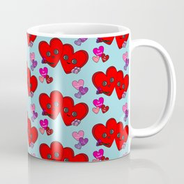 Cute Hearts Coffee Mug
