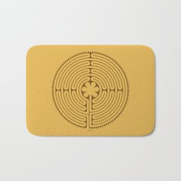 Chartres Labyrinth Bath Mat