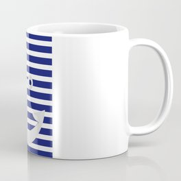 Hipster Sailing Coffee Mug