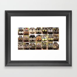 Safari Collection Framed Art Print