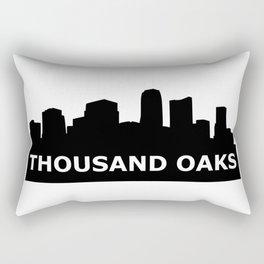 Thousand Oaks Skyline Rectangular Pillow