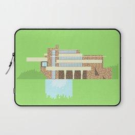 Iconic Houses - Fallingwater Laptop Sleeve