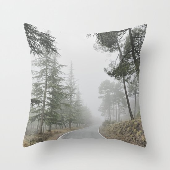 """""""Into the woods"""" Come in..... Throw Pillow"""