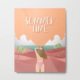 Summer time series II -  Metal Print