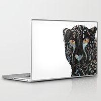 cheetah Laptop & iPad Skins featuring Cheetah by  Steve Wade ( Swade)