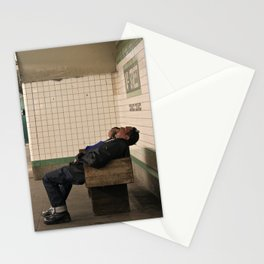 Subway Stories (Pt 5 - New York City) Stationery Cards