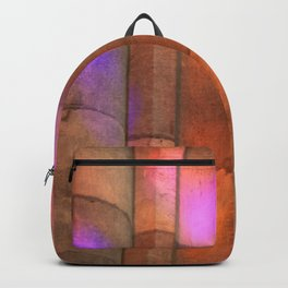 stained-glass reflection Backpack