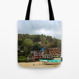 Dreamy Mexican Beach Day Tote Bag