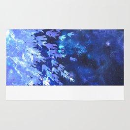 H.E.L.L.O. / blue Rug