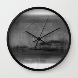 London Eye Overlay Wall Clock