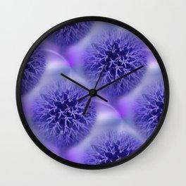allium time Wall Clock