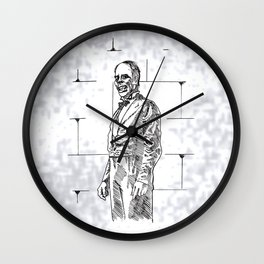 The Phantom  Wall Clock