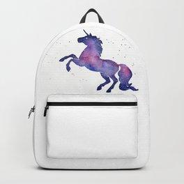 Galaxy Unicorn Watercolor Backpack