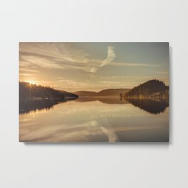 Lakeview Metal Print