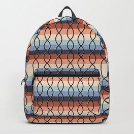 Vintage DNA - Black on Rainbow  Backpack