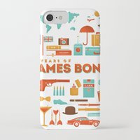 james bond iPhone & iPod Cases featuring James Bond 50 Years  by RLCNTRS
