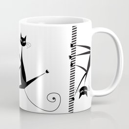 Pole dancing cats Coffee Mug