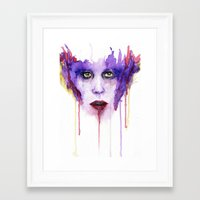 mad Framed Art Prints featuring MAD by Arthur Braud