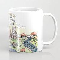 austin Mugs featuring We Belong in Austin by Brooke Weeber