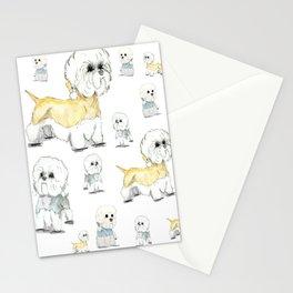 Dandie Melange - Dandie Dinmont Terrier Stationery Cards