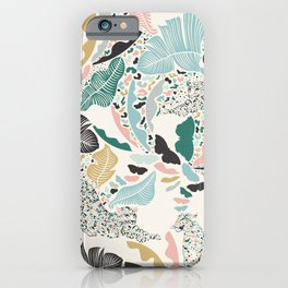 Surreal Wilderness / Colorful Jungle iPhone Case