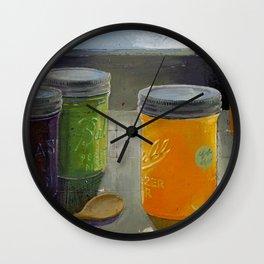 ball mason jars Wall Clock