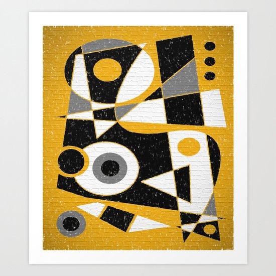 Abstract #385 Wall Art Art Print